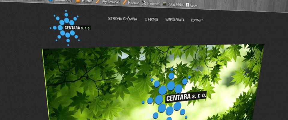www.centara.eu Branding Identity Centara S.R.O.